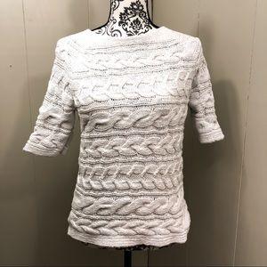 Talbots knit sweater tee size medium